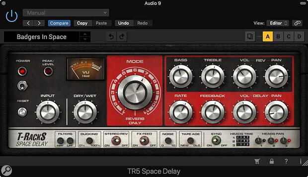 IK Multimedia T-RackS 5 Space Delay