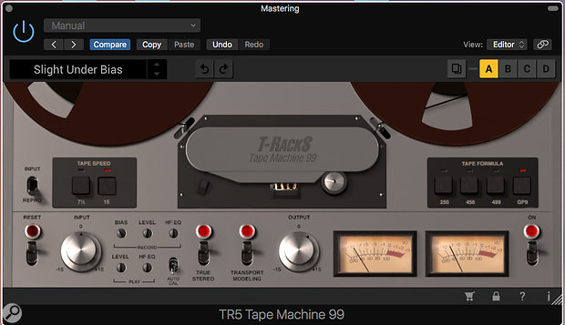IK Multimedia TrackS Tape Machine Collection