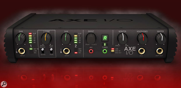 The IK AXE I/O interface.