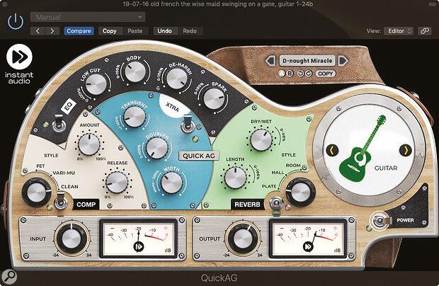 Instant Audio QuickAG
