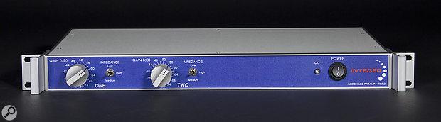 Integer Audio RMP2: Ribbon Mic Preamp