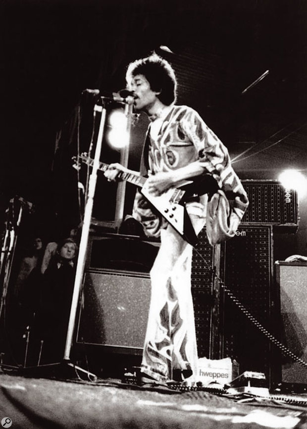 Jimi Hendrix made his last ever UK appearance at 1970's Isle of Wight event.