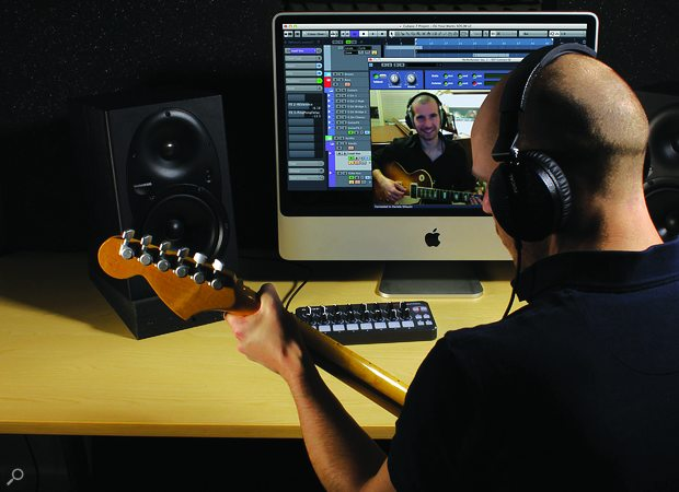 Self-isolating? Collaborate with other musicians.