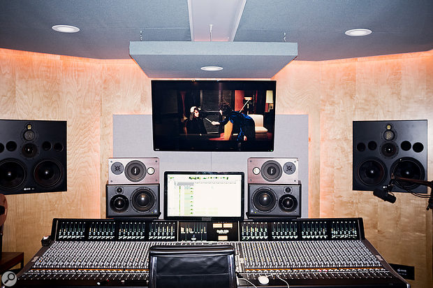 22, A  Million was mixed on the SSL Duality in April Base Studio B.