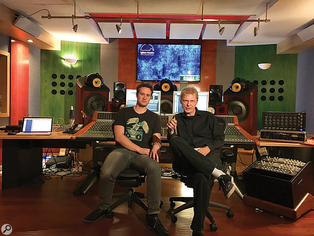 The final mixes were carried out by Baxter at Igloo Studios.