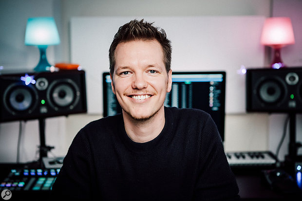 Morten Pilegaard, who co-wrote and co-mixed '7 Years'.