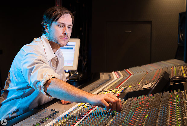 Mix engineer Delbert Bowers trained with the legendary Manny Marroquin.