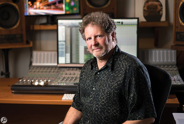 Frank Wolf at his own Studio F facility.