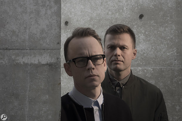 Production duo Seeb are Simen Eriksrud (with the glasses) and Espen Berg.