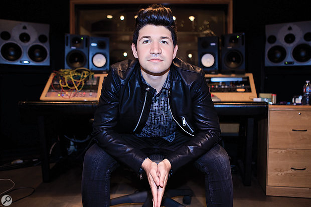 California gave engineer Zakk Cervini his first mix credits on a chart-topping album.