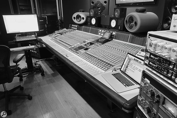 'Treat You Better' was mixed on the SSL E-series console at Toronto's Noble Street Studios.