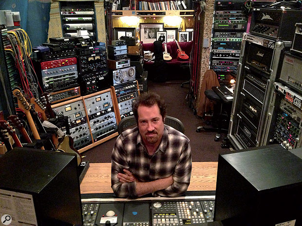 John Shanks at Henson Studio C, his 'home from home'.