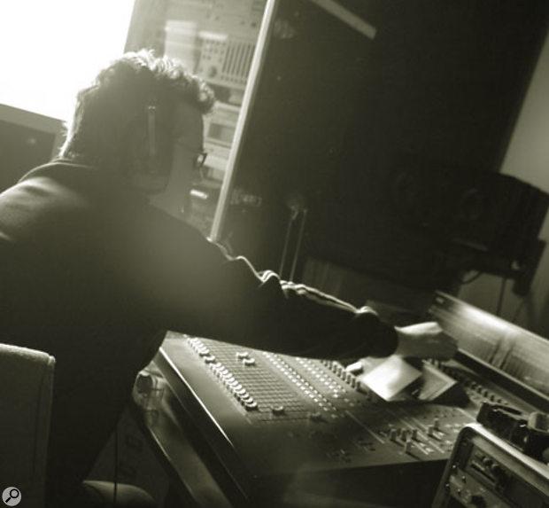 Jim Sutherland in his Edinburgh studio.