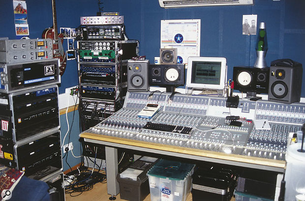 A new Audient ASP8024 analogue desk takes pride of place in Andy Green's own room at Townhouse Studios.