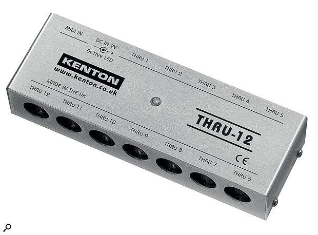 Kenton Electronics Thru‑12 & Pro CV to MIDIMIDIDistributor & Converter