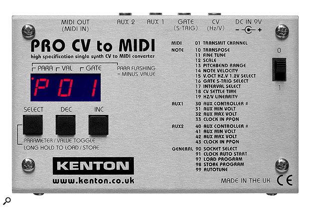 Kenton Electronics Pro CV to MIDIconverter.
