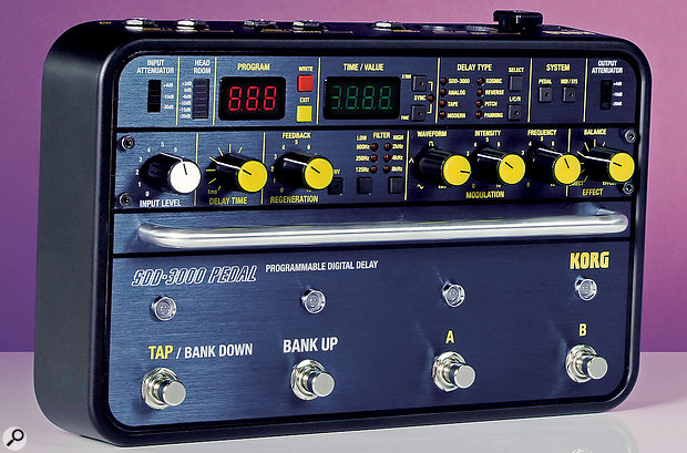 Korg SDD–3000 Digital Delay Processor.