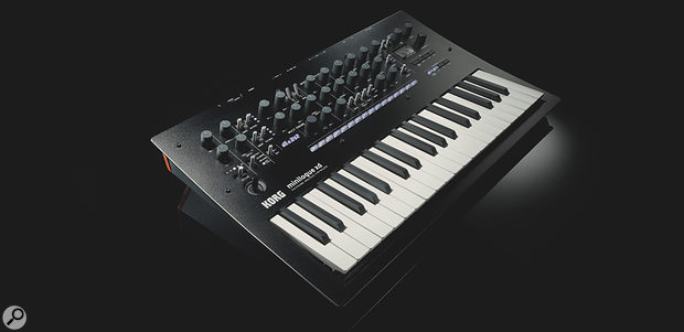Korg's newly expanded Minilogue (known, logically enough, as the Minilogue XD)