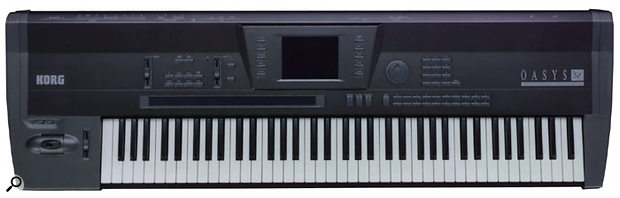 The original Korg OASYS keyboard was never released, although the technology gave rise to several successful products.