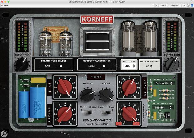 Korneff Audio Pawn Shop Comp 2.0