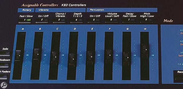 Kurzweil K2600X reight assignable controllers.