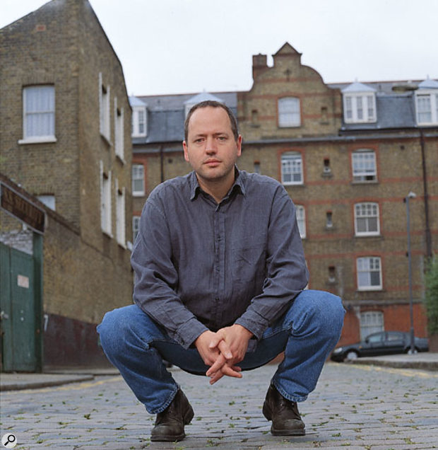 Consolidated Independent director and co-founder Paul Sanders outside the CI offices in East London.