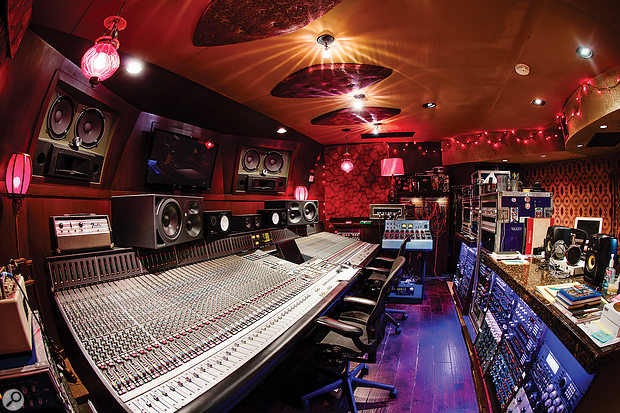 All of Larrabee's control rooms, including Studio 2 shown here, are based around SSL consoles.