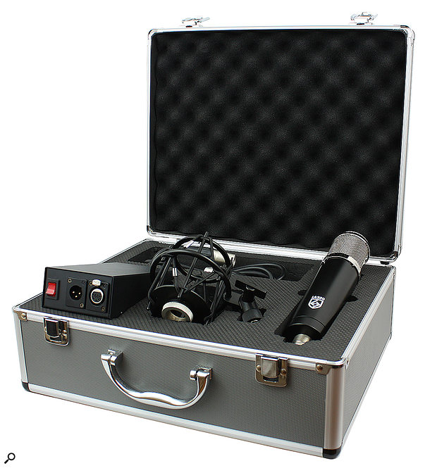 The LA-320 ships in a smart carry-case, along with its PSU, shockmount and five-pin XLR cable.