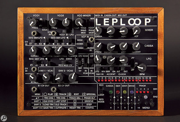 The LepLoop is more compact than it may appear in the photo, its front panel measuring just 206 x 154mm.