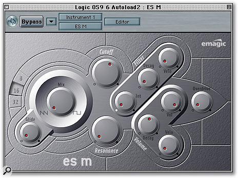 Logic's ESM synth.