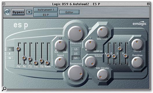 Logic's ESP synth.