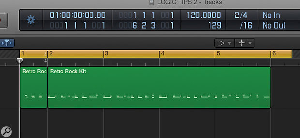 Got a two-beat drum intro? Making the first measure 2/4 keeps the rest of the song on the grid.
