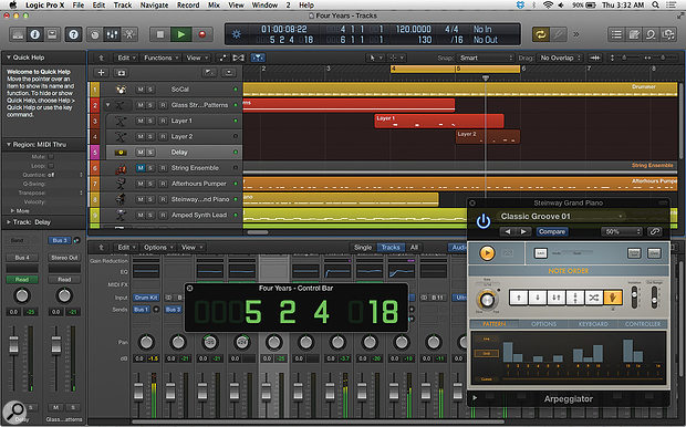 Apple Logic Pro X.