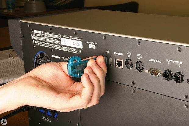 The four extra USB sockets in particular could prove useful given that mouse and keyboard, MIDI interface, and plug-in dongles such as iLok may all require USB connectivity.