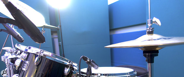 3. The tom and snare-top mic placement.