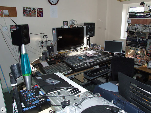 "Martin Rushent's home studio might lack the glamour of Genetic Studios, but it's ""a thousand times"" more powerful."
