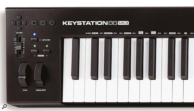 M-Audio Keystation Mk3 controller keyboard