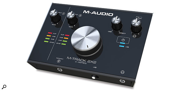 The 2X2 variant also has two preamps, but these are confined to a single mic/line input and one instrument input.