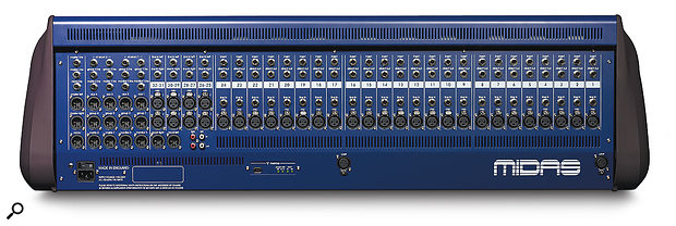The profusion of analogue I/O goes some way to explain the height of the F‑series consoles and, consequently, the steep raking of the front panel.