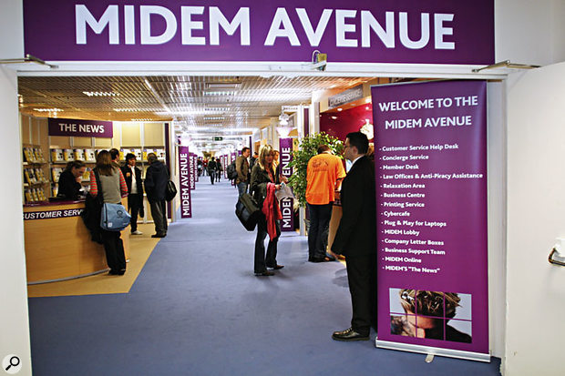 The MIDEM exhibition centre is full of resources that you can make use to do business at the conference.