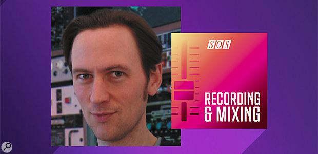 Mike Senior Recording & Mixing Podcast logo