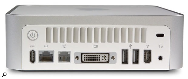 The inclusion of a Firewire 400 port enables the Mac Mini to be connected to Firewire audio interfaces, and also to other Macs as a Node in a distributed Logic system.