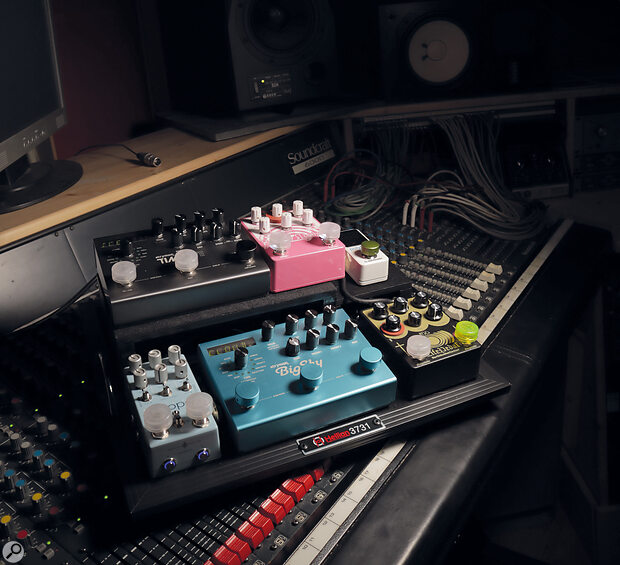 Mixing With Pedals