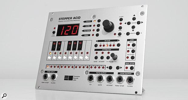 Transistor Sounds Labs Stepper AcidEurorack Step Sequencer Module