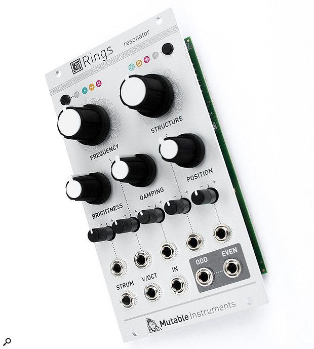 Mutable Instruments RingsEurorack Resonance Module