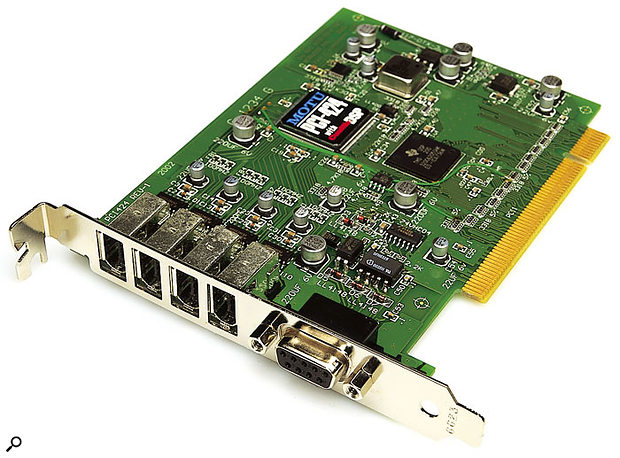MOTU PCI-424 card.