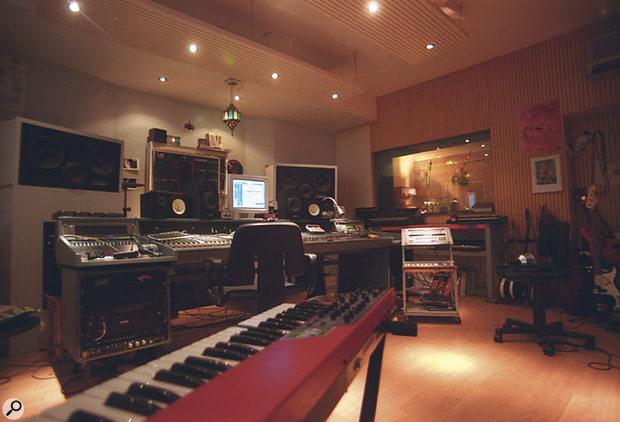 St Martin Tonstudio is based around a Soundcraft analogue desk.
