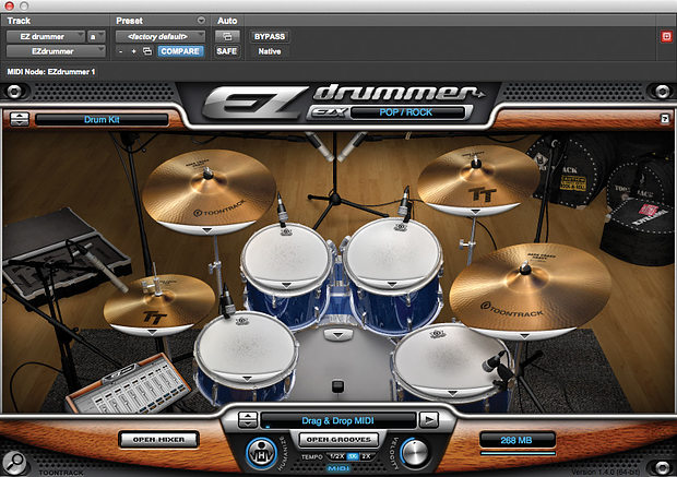 Mix Rescue: EZ Drummer.