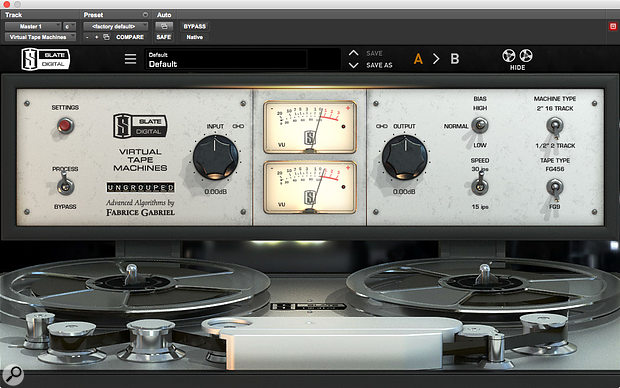 Several instances of the Slate VMS plug-in were used across the mix.