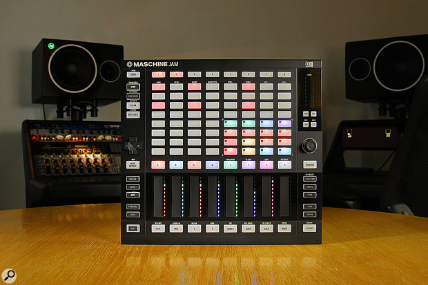 The Jam in Step Sequencer mode.